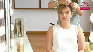 Jak urozmaicić krótką fryzurę i ujarzmić grzywkę? Tutorial Hair Coach Wella Polska