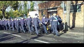 Remembrance Day Parade Loughborough Town Centre 2009 HD Video Clips