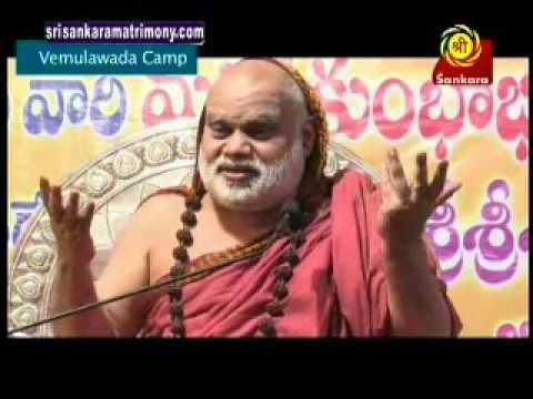 Jagadguru Sri Sri Sri Bharathi Tirtha Maha Swamiji Vemulawada