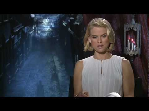 The Raven: Official Sit Down Interview Alice Eve [HD]
