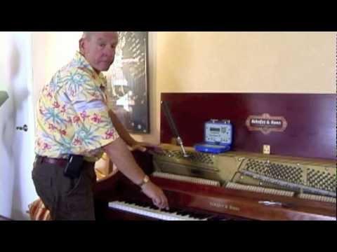 Richwine Piano Tuning - Tuning Process