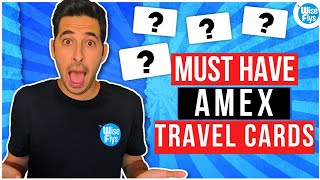 5 Best Amex Travel Credit Cards For Free Travel