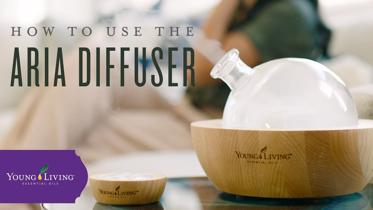 How To Use Your Young Living Aria Ultrasonic Diffuser