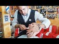 4k 💈 Face Shave With Massage - Old School Italian Barber - ASMR Sounds