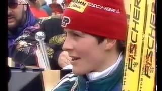 Биатлон-1996. Чемпионат мира в Рупольдинге. Женская эстафета.
