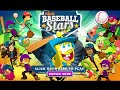 Spongebob Squarepants and Ninja Turtles Play Baseball Games - New Game Baseball Stars in Nickelodeon