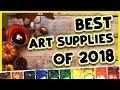 MY FAVORITE ART SUPPLIES OF 2018 // Tour my Best Art Supplies