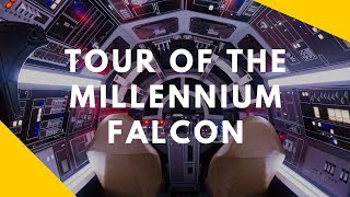 Tour of the Millennium Falcon for Solo: A Star Wars Story - May the Fourth Be With You.mp3