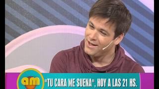 Benjamín Amadeo imita a Maradona - AM