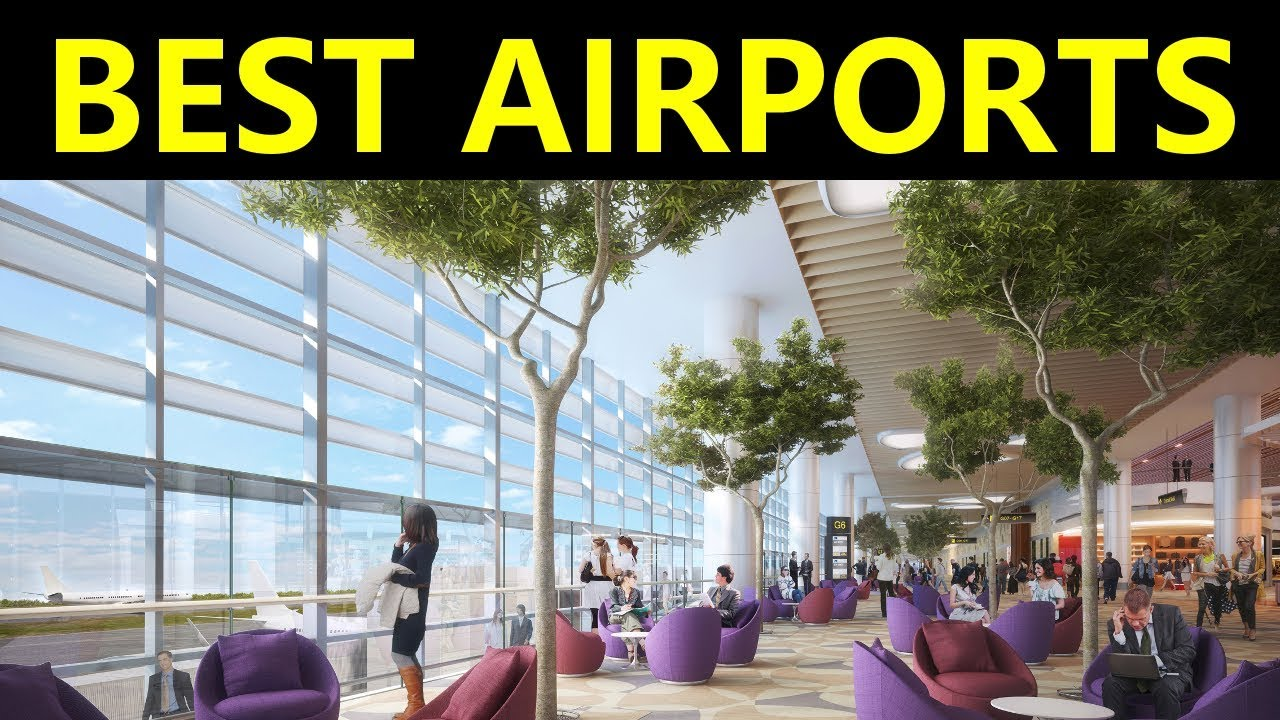 10 BEST Airports In The World!