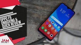 OPPO F9 Unboxing and Quick Review