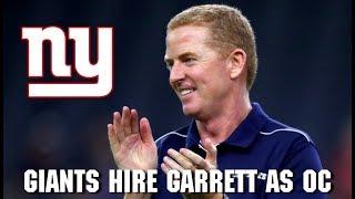 BREAKING: Giants Hire Jason Garrett for Giants OC Position
