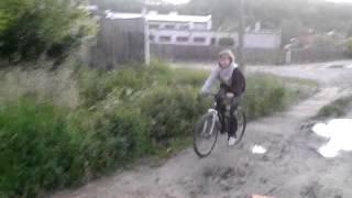Gleba na rowerze. Beka
