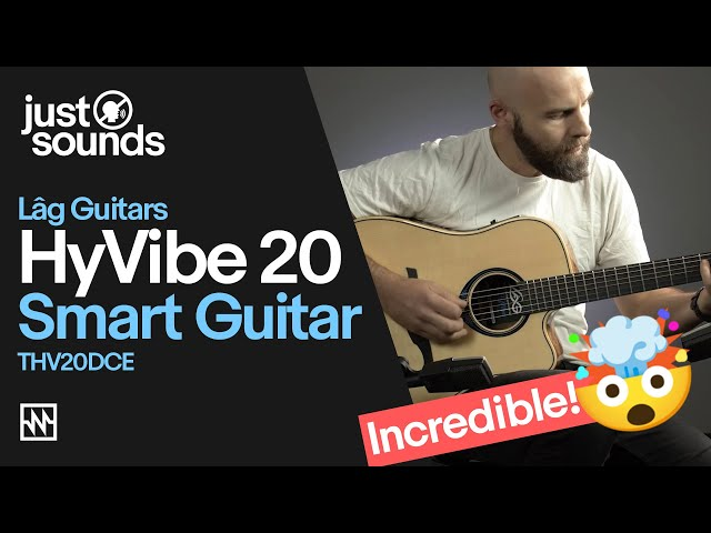 Lâg HyVibe 20 Smart Guitar Demo | An Acoustic Guitar with Built-in Effects Unit - No Amp Required!