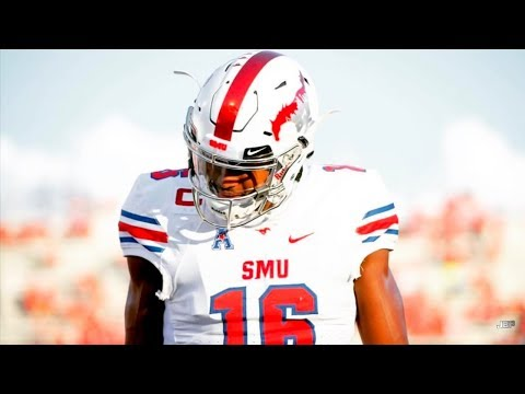 A DB's Nightmare || SMU WR Courtland Sutton Career Highlights ᴴᴰ