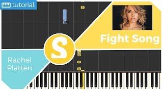 How to play FIGHT SONG by Rachel Platten | Smart Kids Piano | Kids Piano Tutorials
