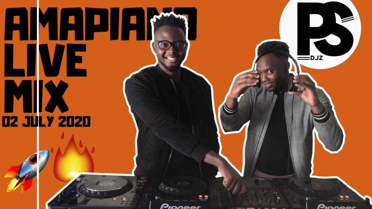 AMAPIANO LIVE MIX | 02 JULY 2020 | Da Mthuda & Njelic Ebumnandini | DOUBLETROUBLEMIX BY PSDJZ