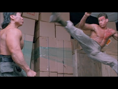 Double Impact Fight Scene - Van Damme vs. Bolo [HD] thumbnail