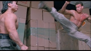 vuclip Double Impact Fight Scene - Van Damme vs. Bolo [HD]
