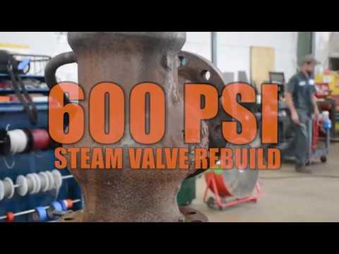Steam Valve Repair