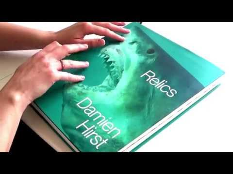 "Reading From ""Relics"", Damien Hirst Part 1 - Page Flipping - *ASMR*"