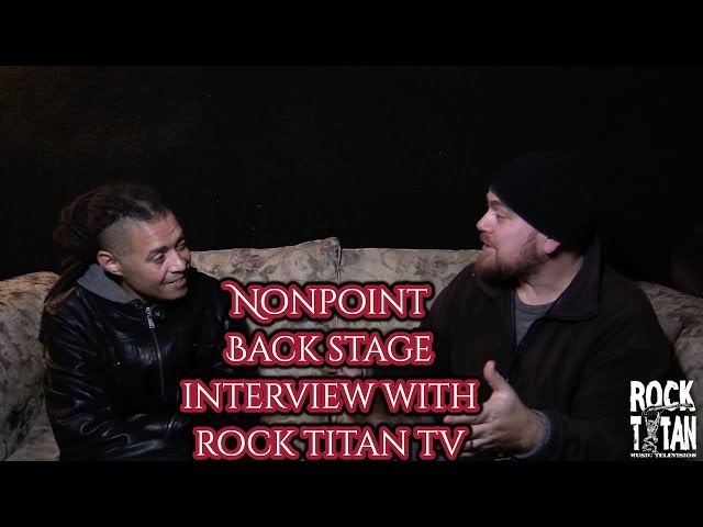 Nonpoint's Elias Soriano interview on P.O.D. Full Circle tour