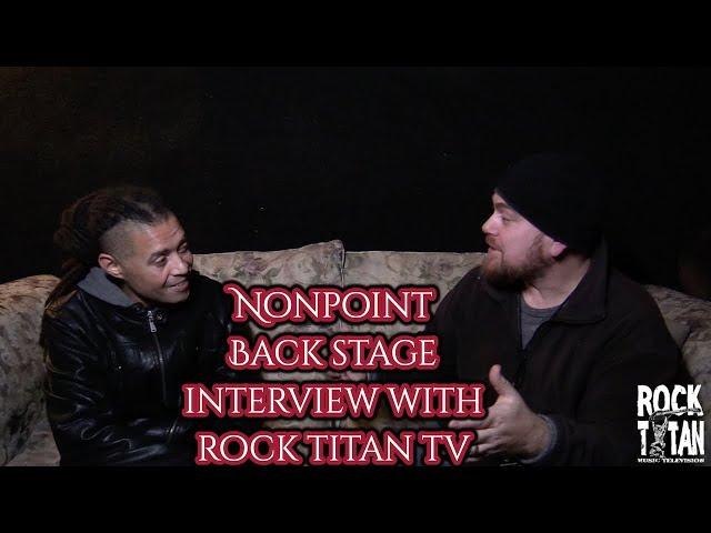 Nonpoint's Elias Soriano interview on P.O.D. Full Circle tour