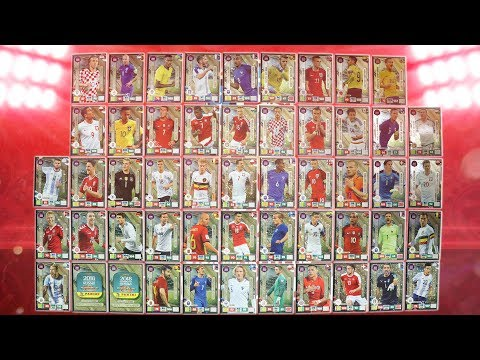 ALL LIMITED EDITION CARDS ☆ ROAD TO FIFA WORLD CUP 2018 Adrenalyn XL ☆ WM2018