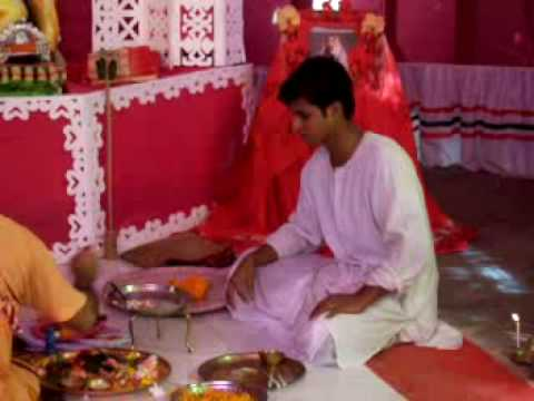 Jagadhatri puja at Ramakrishna Ashram in Sitakunda Chittagong, Bangladesh on a beautiful summer trip