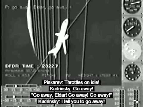 Aeroflot Flight 593 Crash Animation + CVR