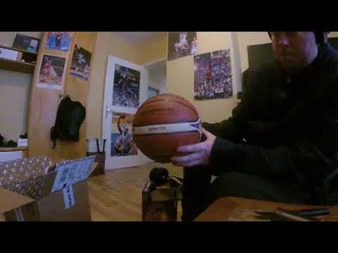 Basketball: Unboxing Molten GM7X Euroleague 2017 Replica Ball