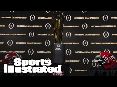 Protests Planned For President Trump At College Football Championship | SI Wire | Sports Illustrated