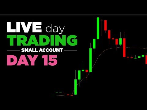 LIVE Trading | Day 15: Small Account - Breaking rules will break your account!