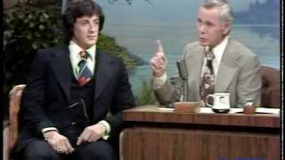 Sylvester Stallone on The Tonight Show Starring Johnny Carson Promoting His New Movie, Rocky -  pt.2