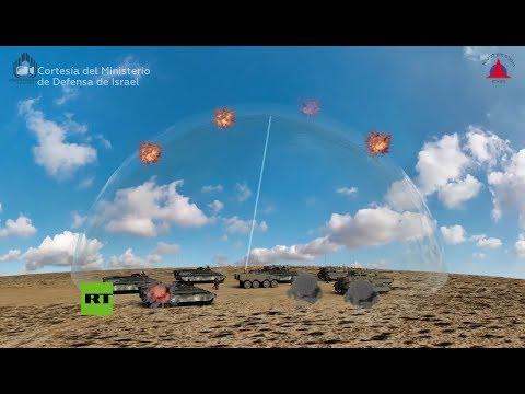 Israel muestra sus nuevas 'espadas láser' que derribarán misiles y drones