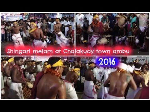 Shingari Melam at Chalakudy Town Ambu 2016