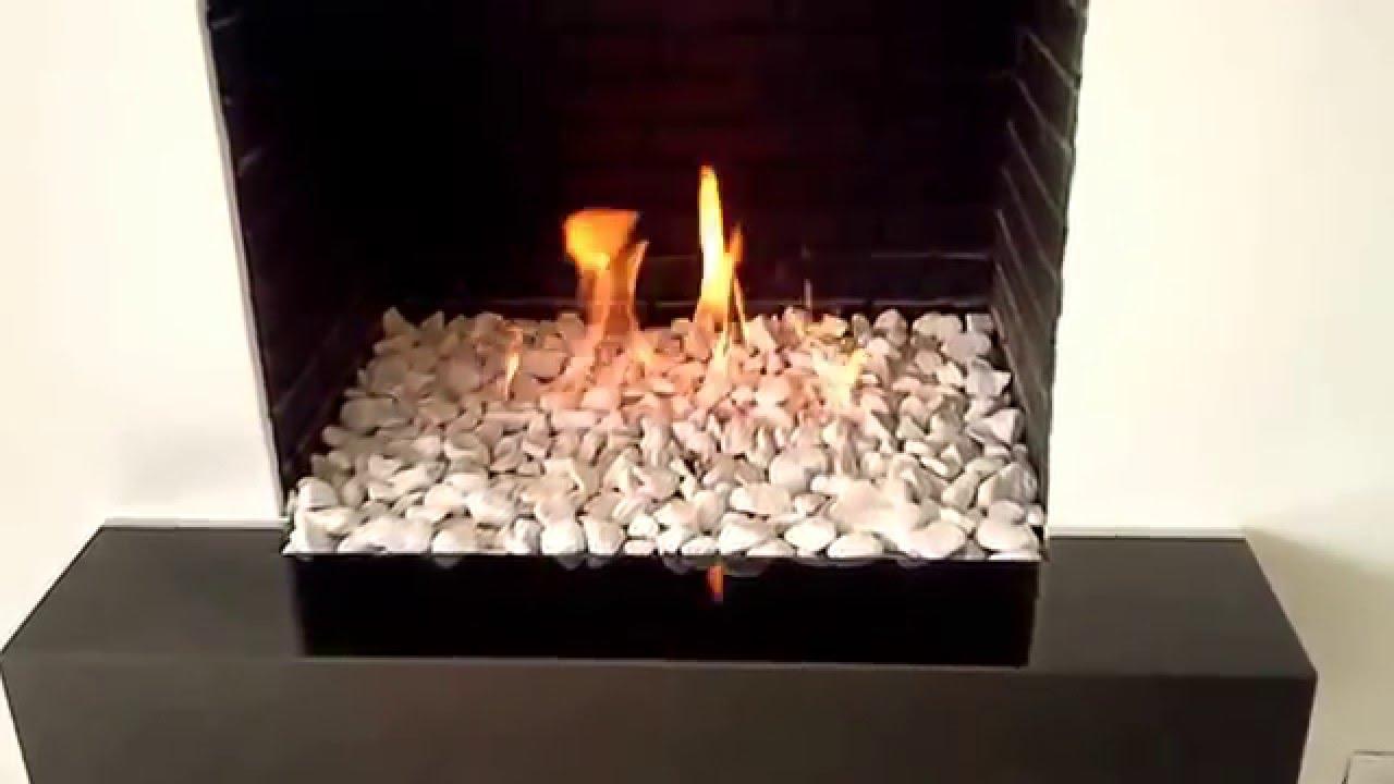 Chimenea contramuro youtube - Piedras para chimeneas ...