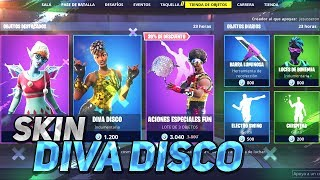 * new SKIN DIVA disc * draw 1000 turkeys shop FORTNITE 31 December