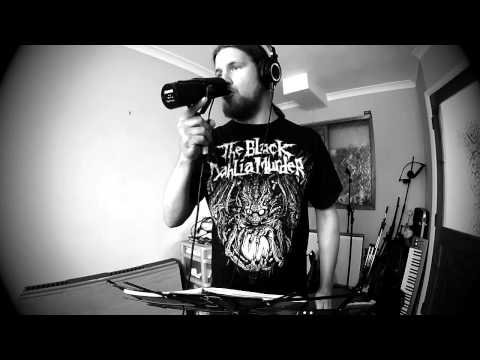 Human Mycosis in the studio - vocals