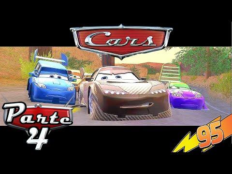 CARS Gameplay Español - Parte 4 | Circuito De Sun Valley Rayo McQueen (1080p)