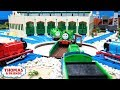 Duck Takes Charge | Blocking the Big Engines | Thomas and Friends Clip Remake