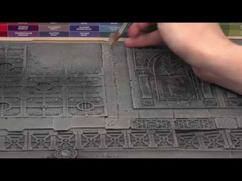 Realm of Battle: Sector Imperialis - How to paint your board.