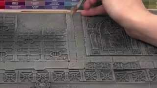 Realm Of Battle: Sector Imperialis   How To Paint Your Board.