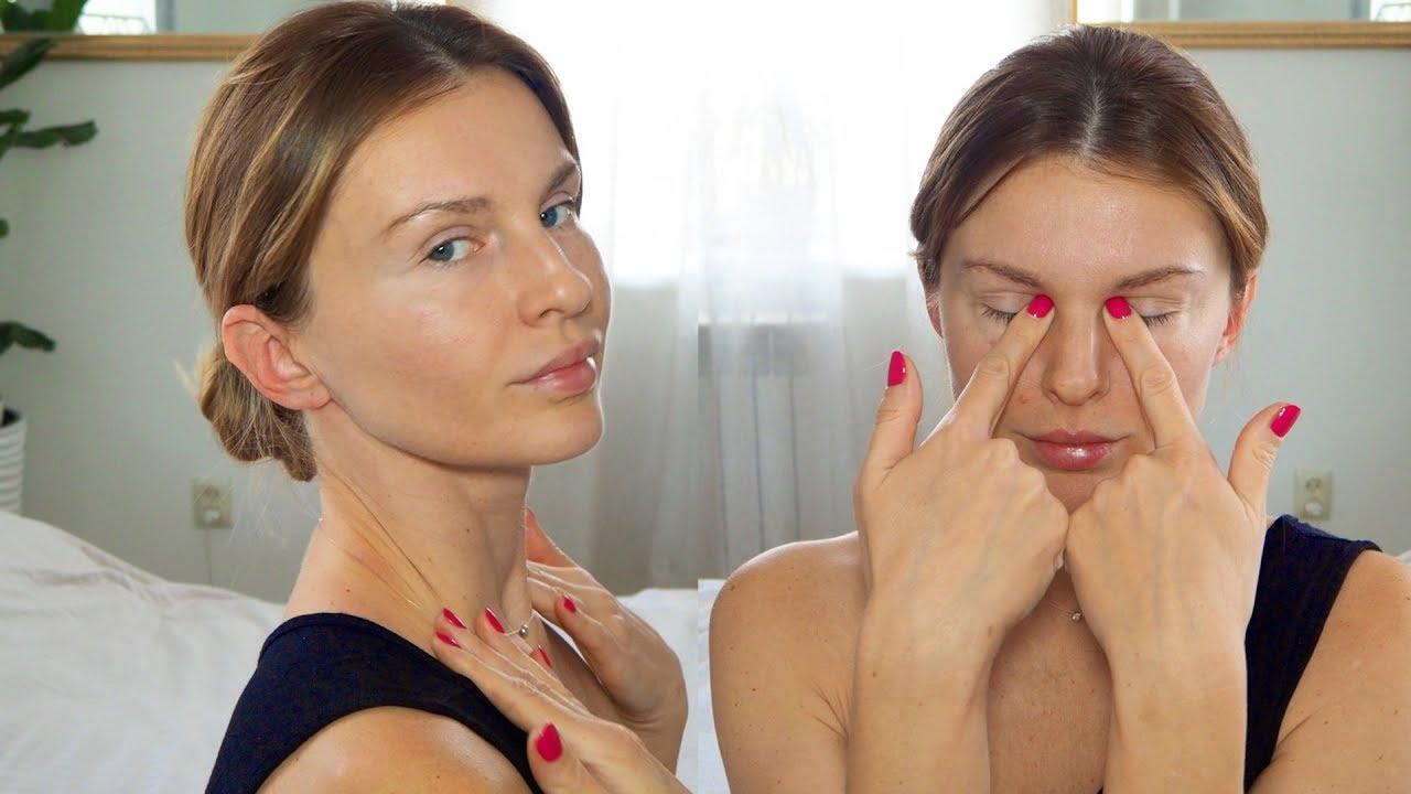 Как делать японский массаж лица
