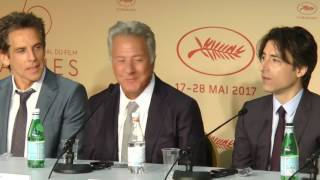 Ben Stiller, Adam Sandler & Dustin Hoffman - Press conference
