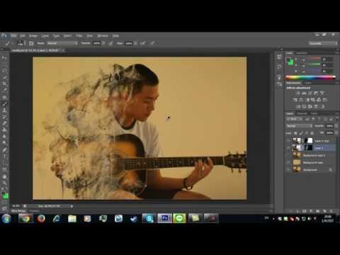 Tutorial สอนทำ Effect สวยๆ Photoshop Cs6 #1 เอฟเฟคควัน