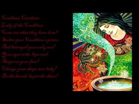 Damh the Bard - Ceridwen and Taliesin (Lyrics)
