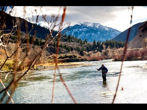 Fly Fishing With JANS.com: Fishing The Green River In Fontenelle, Wyoming