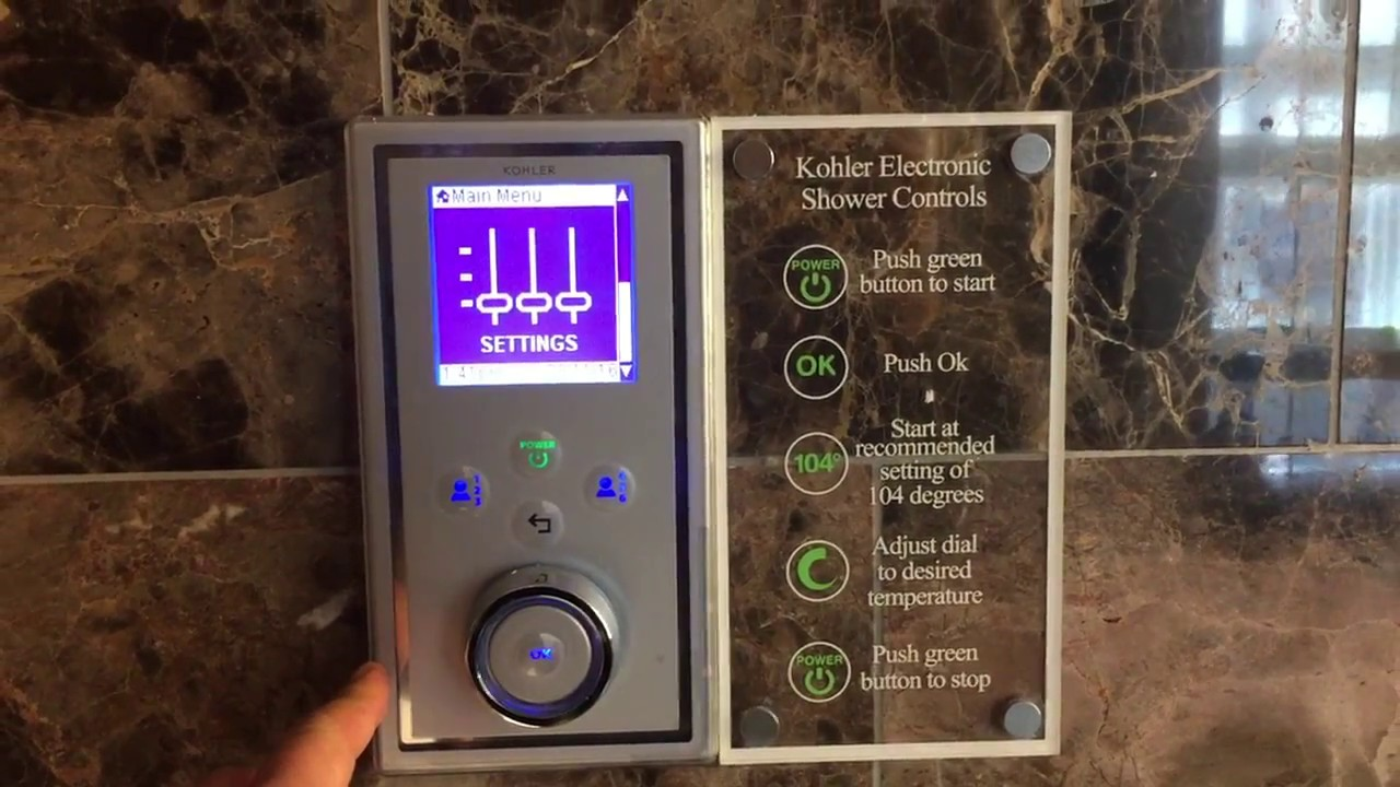 Merveilleux John Teng Reviews The Bathroom Kohler Electronic Shower Controls At The St.  Erminu0027s Hotel In London.