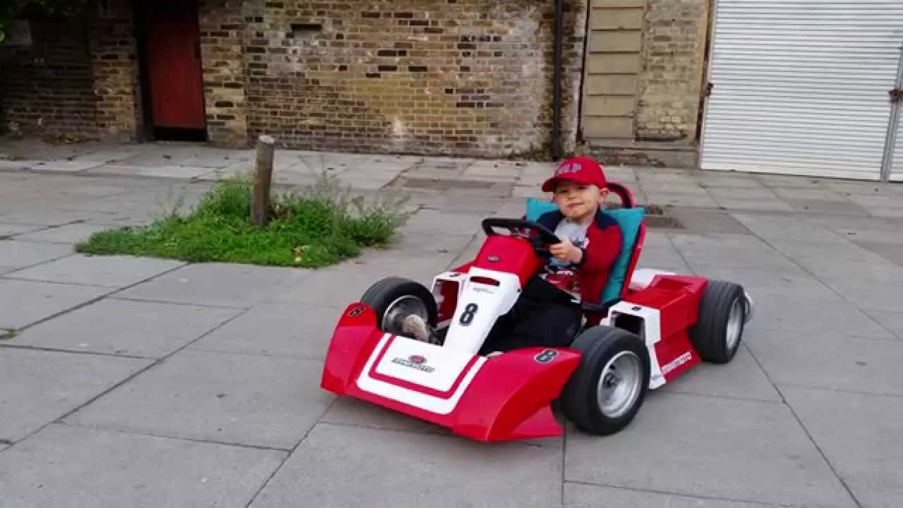 Electric Go Kart 400w For Kids 4k Uhd